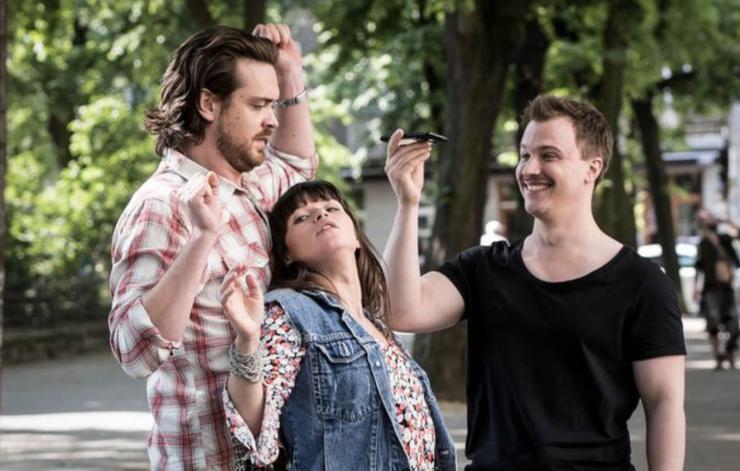"""Lore Richter & Jeremias Koschorz am 13.03.2018 um 22:45 Uhr in der ZDFneo Serie """"Nix Festes"""" – Die Sache mir Rick"""""""