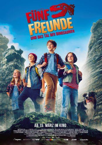 """15.03.2018: Kinostart """"Fünf Freunde und das Tal der Dinosaurier"""" mit Manuel Cortez in der Rolle 'Pedro Mendes'"""